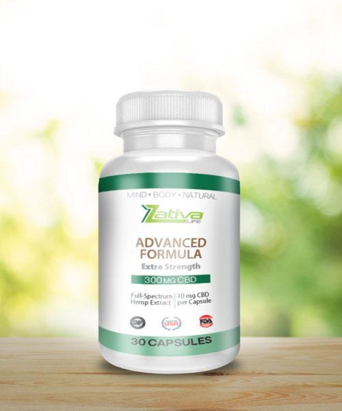 zativa-life-Advanced-formula--300mg-CBD-Capsule