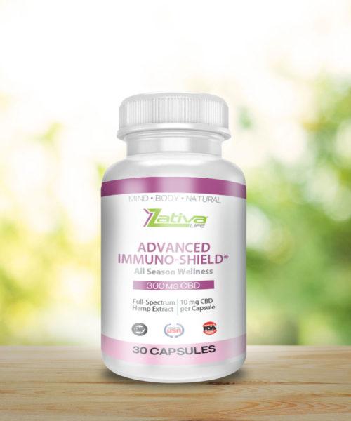 zativa-life-advanced-immuno-shield-immune-health-300mg-CBD-capsule